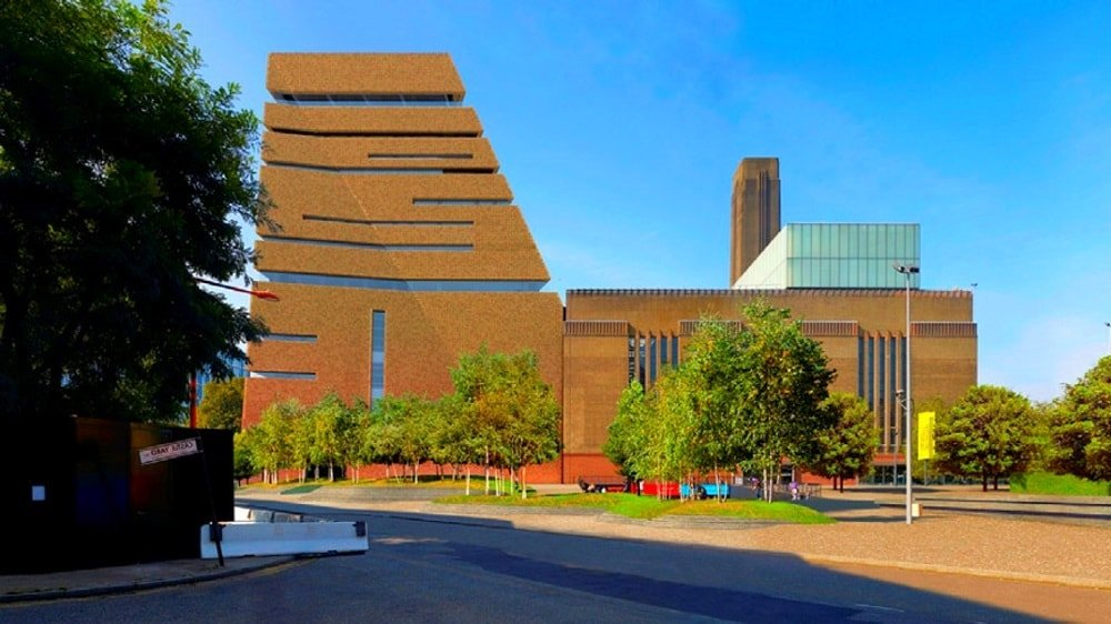Ampliación del Tate Modern Londres