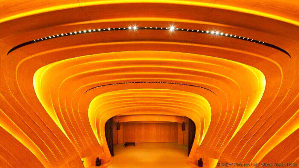 Heydar Aliyev Centre, Bakú, Azerbaiyán