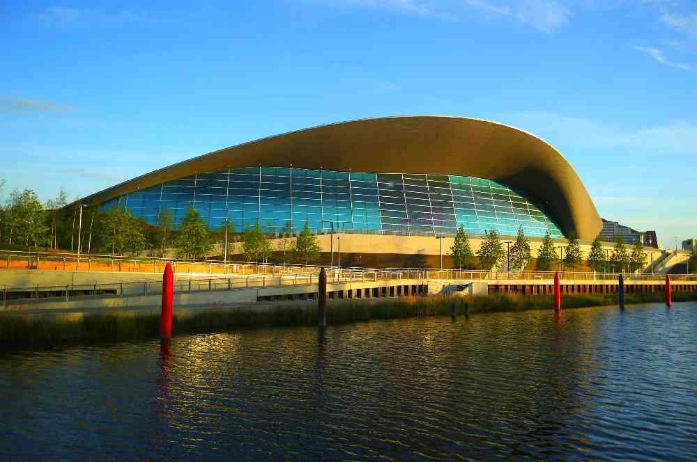 London Aquatics Centre zaha hadid