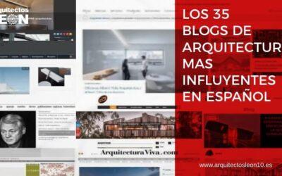Los 35 blogs de arquitectura en español más influyentes [incluye tabla con datos y valoración]