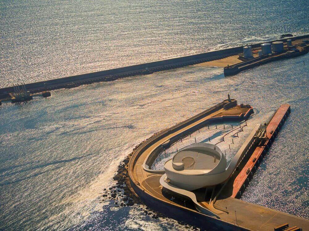 Terminal de Cruceros deLeixões Luís Pedro Silva Arquitecto