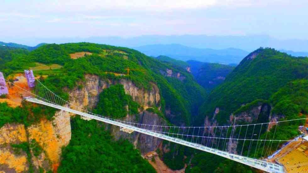 Zhangjiajie Grand Canyon Glass Bridge3