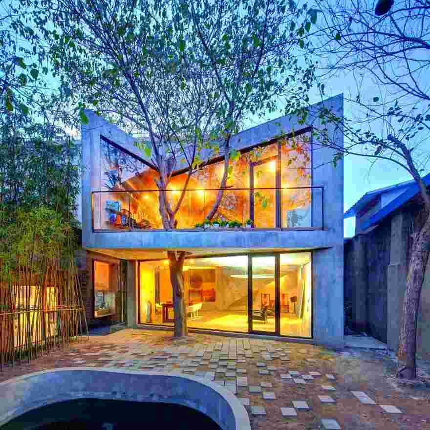 arquitectos se negaron a cortar árboles