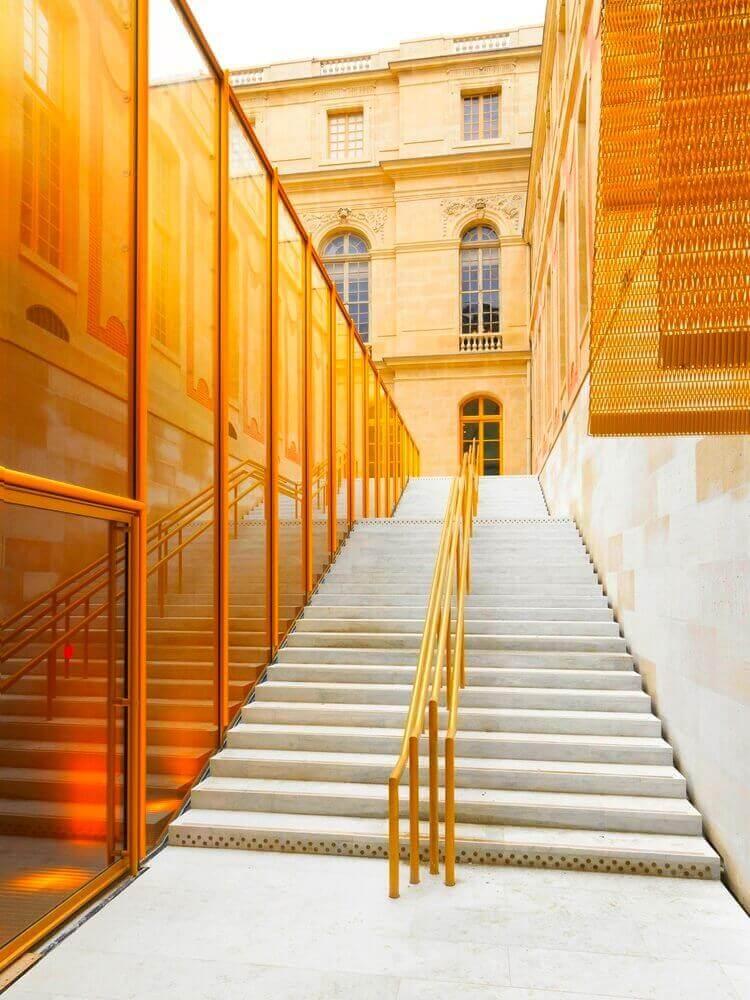 Refurbishment of the Pavilion Dufour Château De Versailles / Dominique Perrault Architecte