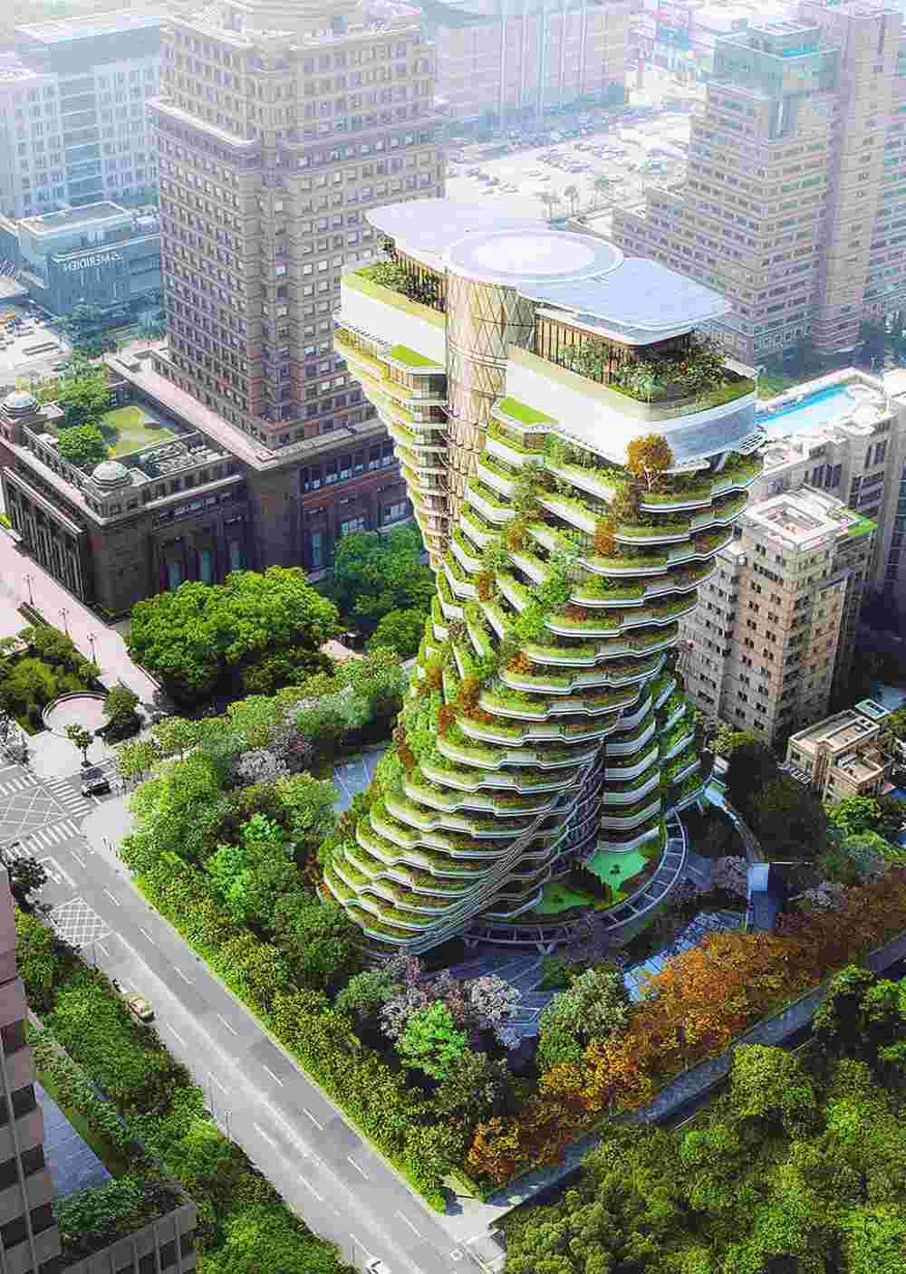 tao zhu yuan tower
